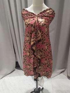 Batik silk kemben