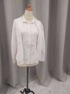 Club monaco white blouse