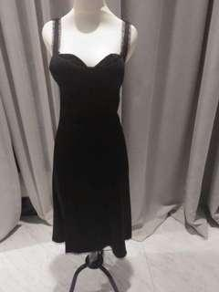 BCBG max azria black dress