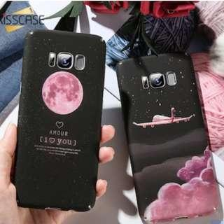 PO: SAMSUNG Lovely Moon Planet Phone Case #A005