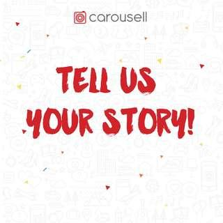 We want to hear about your Carousell Journey as a Seller!