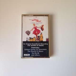 🚚 Sound of Music Cassette Tape