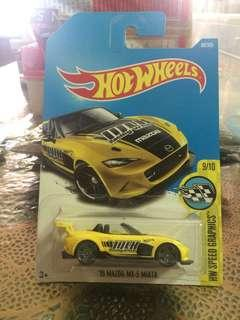 Hot Wheels- 15 Mazda MX-5 Miata