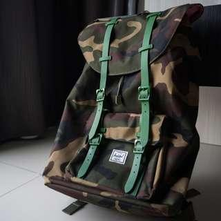 d4bf3425bb5 Herschel Supply Co. Little America Backpack Woodland Camo