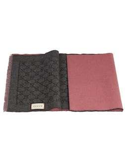 Bnwt Gucci Authentic Wool Reversible Shawl