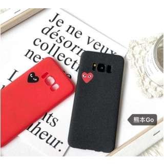 PO: Stylish Commes Heart SAMSUNG Phone Case #A006