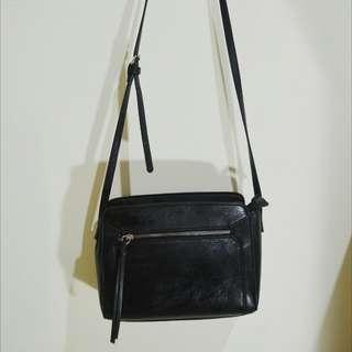 Sling bag Stradivarius - tas selempang - tas hitam