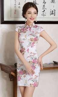 BN CHEONGSAM DRESS CNY QIPAO