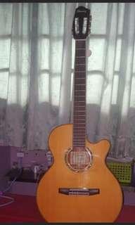 Ibanez semi classical guitar.. Seldom use
