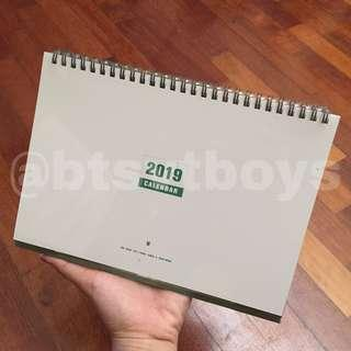[ WTS ] BTS' 2019 Season's Greetings Desk Calendar