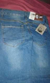 Celana jeans cheap monday size 38 baru