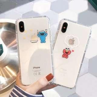 PO: IPHONE Petite Cookie 7 Elmo Phone Case #A007