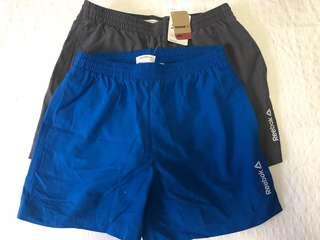 2 for $22 Reebok Men Running Shorts