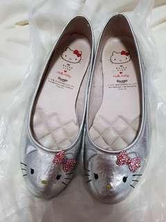 Hello Kitty Silver Pump Shoes