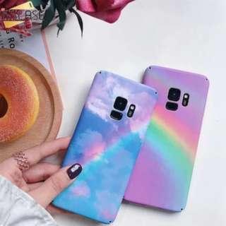 PO: SAMSUNG Rainbow Cloud Phone Case #A008
