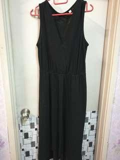Cotton Black Dress
