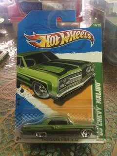 Hot Wheels - 69 Chevy Malibu