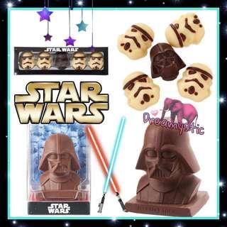 日本情人節限定朱古力 Star Wars 朱古力 情人節禮物 情人節 bb8 r2d2 黑兵 白兵