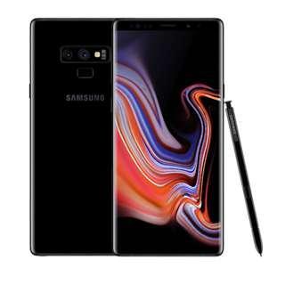 Samsung Galaxy Note 9 (Black 128GB)