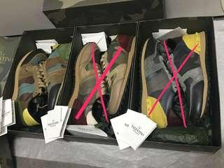 Valentino rock stud sneakers runner