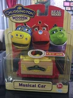 Chunggington wooden rail way-musical car