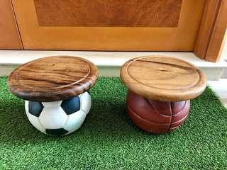 Lovely solid wood stools