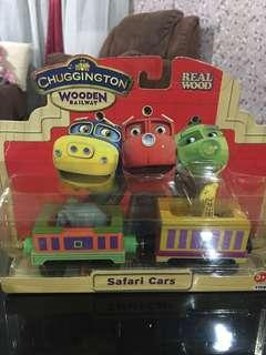 Chunggington Rail Way- safari cars