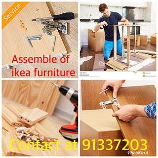 Assemble of ikea furniture and handyman services 24 hours 91337203