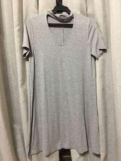 Pull & Bear Grey Dress