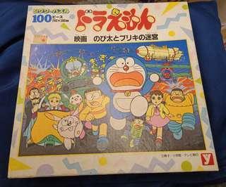 Doraemon叮噹 多啦A夢90年代日版puzzle