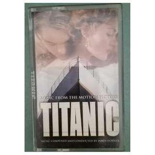 Vintage Cassette: Titanic Movie Soundtrack