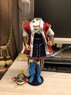 1/6 Scale Samurai Figurine - Set A