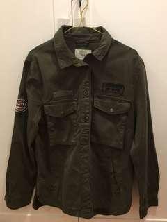 Deep Green Utility Jacket (NEW‼️)
