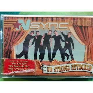 Vintage Cassette Nsync No Strings Attached