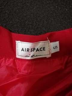 🚚 Air space 大紅色圓裙(有實穿)