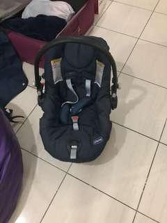 Carseat /carrier baby chico brand