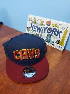 Cavs New Era Caps Authentic