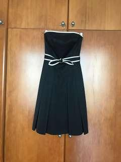 Tocca strapless cocktail dress