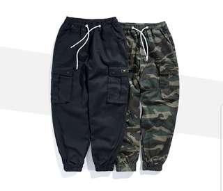 🚚 instock cargo baggy joggerpants