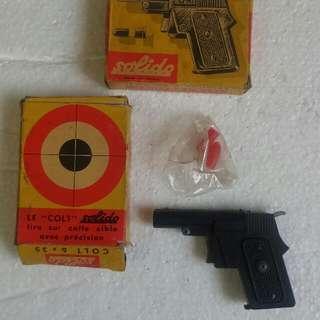 70年代法國製掌心雷型喼紙玩具槍(最後一支了)