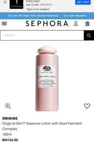 Origins Original Skin Essence Lotion