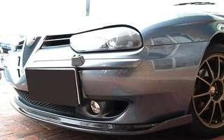 Alfa romeo 156 carbon front lip