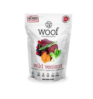 🚚 Woof freeze dried venison 1.2kg
