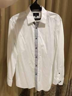 G2000 white shirt size 15,5
