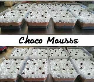 Chocolate mousse in Tub