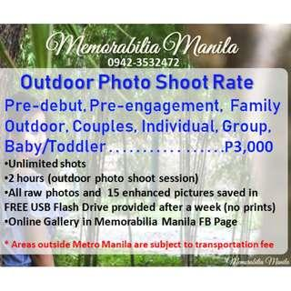 Outdoor Photo shoot Service