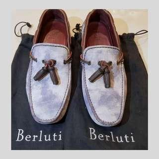 Berluti loafers / driving shoes