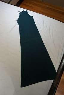 Forever 21 Green Maxi Dress