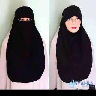 Cadar Niqab import lokal banyak varian