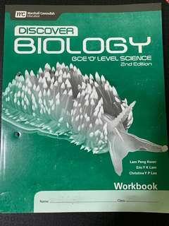 Discover Biology workbook GCE O level